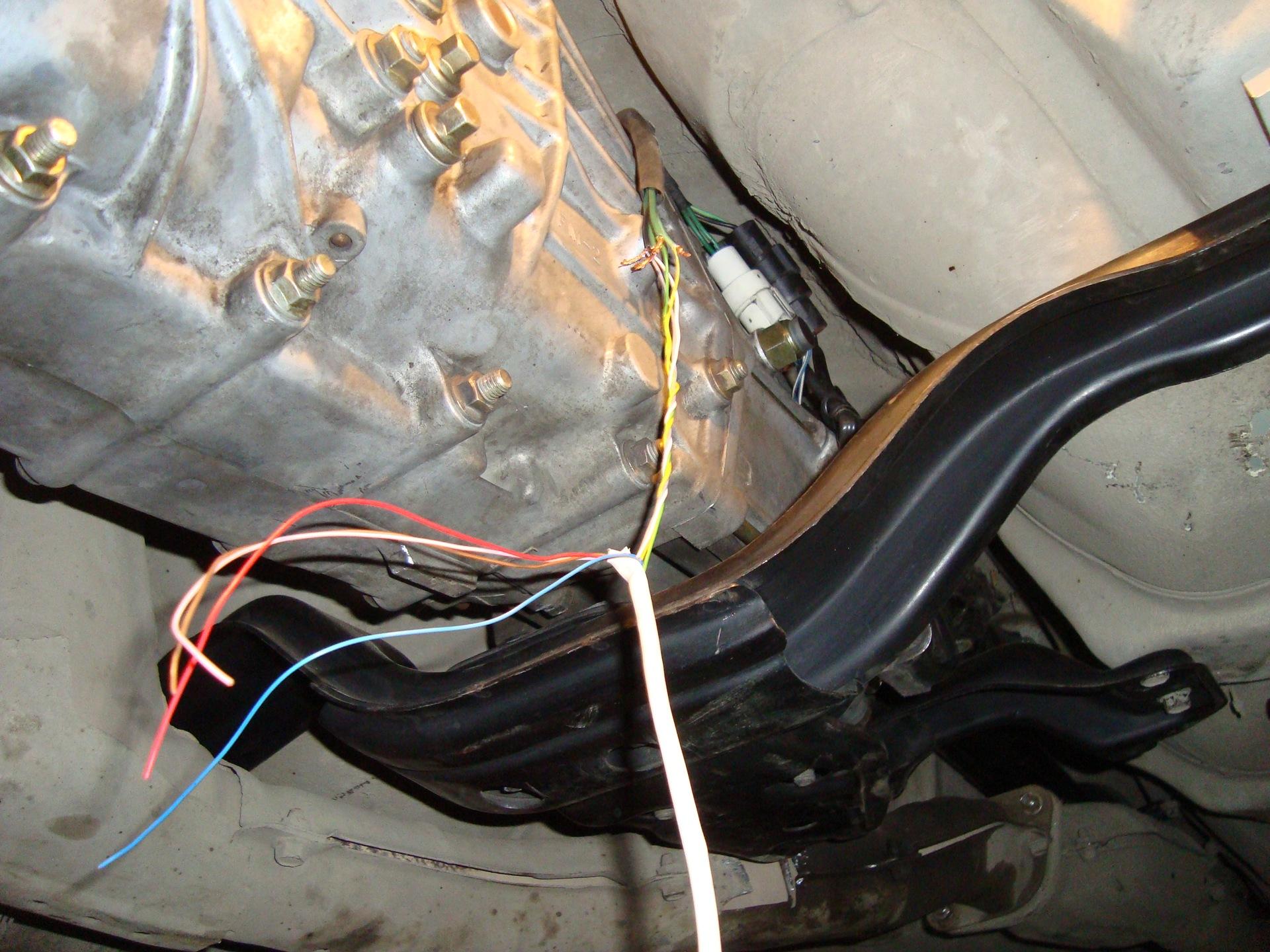 схема 4 ступенчатая коробка передач от ауди 100