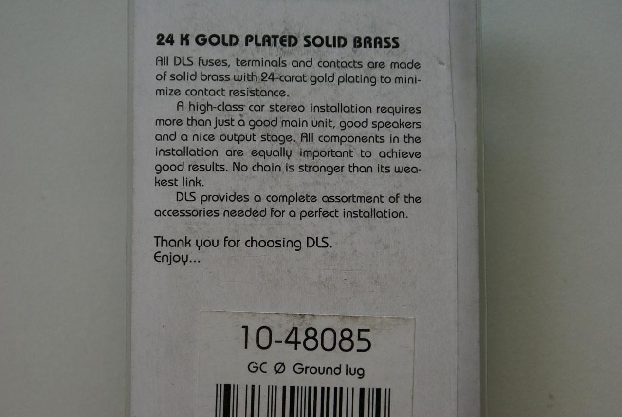 Клеммы кузовные DLS GC 0 - 002