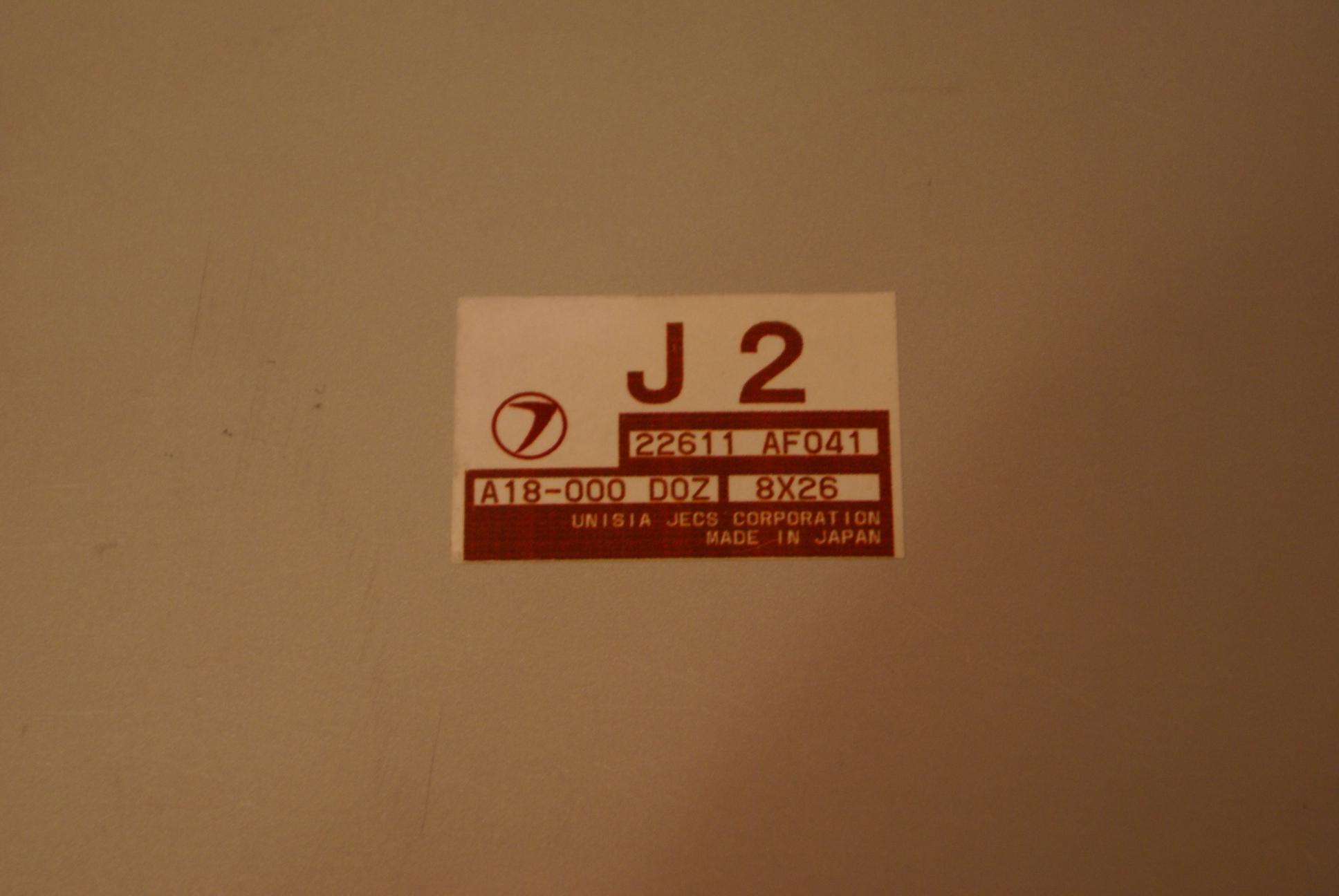 ECU Subaru Impreza GC STI ver5-6 - 004