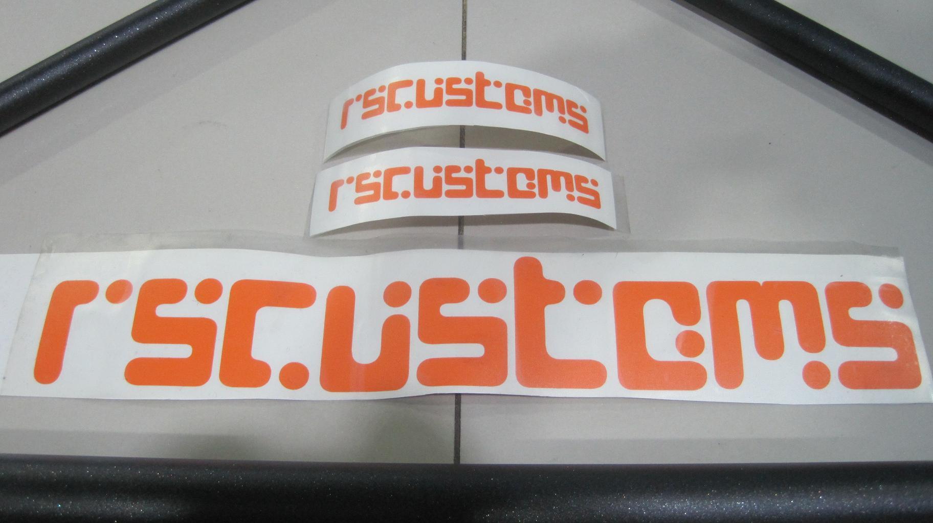 Распорка задняя 5ти точечная rscustoms - 008
